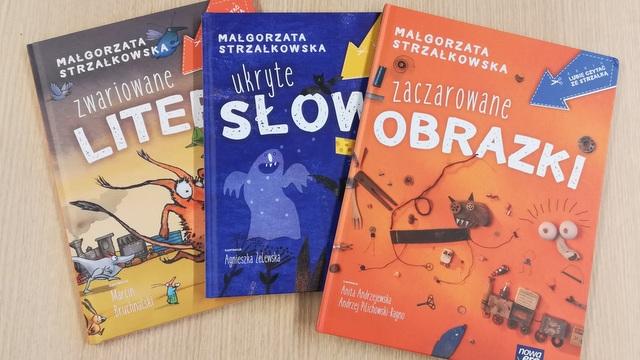 Zwariowane Litery I Zaczarowane Obrazki Książki Dla Dzieci